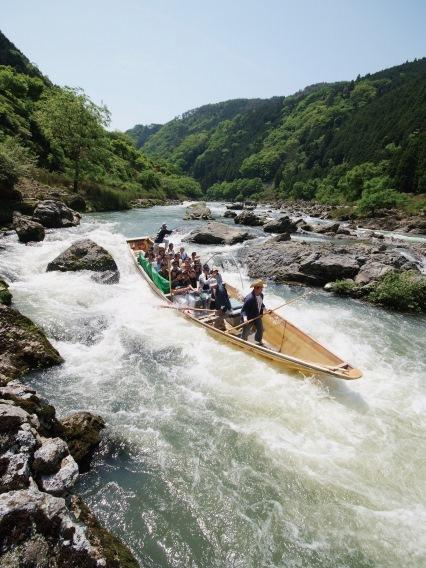 京の名物 保津川下り◎京の自然とふれあう船旅
